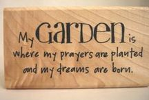 Gardens & Yards: Signs