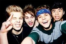 ᚎ 5 SOS <3 / And the memories I never can escape, cuz I'm not fine at all <3 / by mɑriɑ ♕