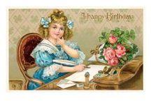 DIY Vintage Birthday / .