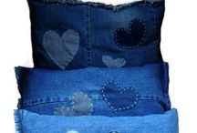 Denim Blues / Shades of denim Indigo & Denim Blue Often used in art & clothing / by cheryl pannell