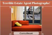 Terrible Estate Agent Photographs! / The unbelievably bad estate agent photos that will have buyers NOT wanting to move in.  Board by UK online estate agent: http://castlesmart.com