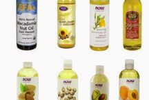 Carrier Oils to Create With / So many lovely carrier oils with great health benefits.