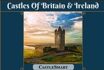Castles Of Britain & Ireland / This board brings you photos and information about hundreds of castles from around Britain and Ireland. Discover some of the many and varied examples of castles that are still visible today. Some are large, famous and easy to find, while others are almost forgotten ruins.  Board by UK online estate agent: http://castlesmart.com