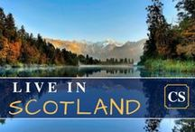 Live in Scotland - rent or buy house or apartment / There are many reasons why living in Scotland is wonderful. From the remote countryside of the Highlands to the vibrant, cosmopolitan streets of Glasgow, Scotland's cities and regions are fantastic places to live and work.  City? Country side? In Scotland you don't  choose, you get both. Here is some key information on aspects of life in Scotland.  Board by UK online estate agent: http://castlesmart.com