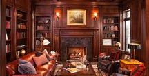 Library Interior Design / Create a stunning Library Interior Design for your house with Mercurius-Art showroom. Create your own cozy and stylish reading nook with Mercurius.