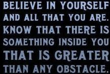 Inspirational Quotes / by Julie Deeds Metzgar