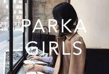 PARKA GIRLS / Womenswear, styling, inspiration