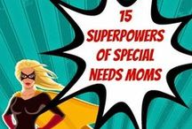 Being a Super Parent of a Special Kid / Let's face it, there's no such thing as a perfect parent!  But parents of kids with special needs sometimes feel like we need to be super heroes to make it through the day and help our kids get the most out of theirs.  This is for all those super parents out there.  :-)