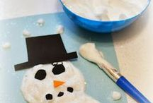 Snow Day / Are the kids home for a snow day? Check out some of these craft and game ideas!