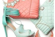 Coral and mint beauties / My favorite colors ♥