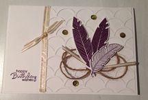 My Stampin Up creations