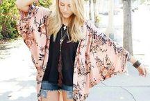 Lovely kimonos
