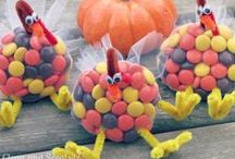 Thanksgiving / Candy recipes, crafts and decorations for Thanksgiving