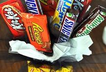 Candy Bouquets & Clever Gifts / More fun than flowers and tastes better too!