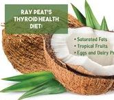 Thyroid supportive fats & oils / The fats that increase thyroid function are saturated!