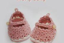 Crochet - socks, shoes