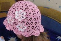 Crochet - hat, headband, shawl