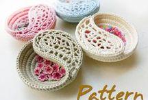 Crochet - basket