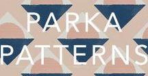PARKA PATTERNS / Fabric, textile, pattern & design