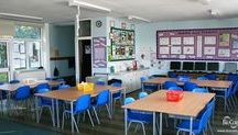 Antimicrobial Classroom / BioCote and partners created the world's first antimicrobial classroom with products that actively reduce bacteria.   The results? A 96% reduction in bacteria in comparison to a standard, unprotected classroom