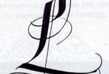 Broad Nib / Brush Calligraphy