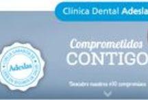 Clínica Dental Adeslas / Descubre nuestros #10 compromisos #1Primera consulta #2Presupuestos #3Tarifas #4Especialidades #5Tecnología #6Certificación #7Satisfacción #8Clínicas Adeslas #9Profesionales #10Inversión