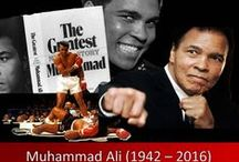 """Muhammad Ali: Tribute / """"This is just another wicked lie"""" Denial took hold of me """"Even death wouldn't dare"""" To take """"Ali the greatest"""" from here Alas! It is the truth that I fear *** https://www.facebook.com/photo.php?fbid=1207996015885798&set=a.217711804914229.63896.100000262341465&type=3&theater"""