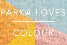 PARKA LOVES COLOUR