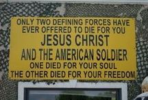 God Bless Our Troops!!!!! / by Easter Bell