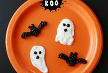 Halloween foods & crafts / by Gosia | Kiddie Foodies