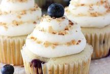 Cupcakes, cakes, pastry and food