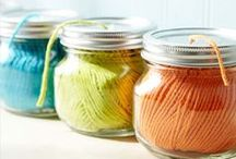 Nifty Storage Ideas / Smart ways to organize your beloved knitting supplies!