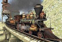 Trains, Tracks and Stations / Trains