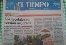 C&B En la Prensa / Algunas de las Publicaciones realizadas por los medios.