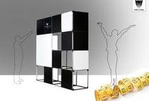 Arredamento per ufficio / Allestimenti per interni modulari