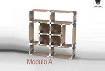 """Arredo Negozio / Allestimenti d'interni modulari progettati per il mondo """"retail"""". Soluzioni progettate per rendere trasformabile e adattabile il tuo ambiente"""