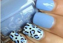 Nail Art Blues