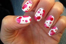 Valentine's Day Nails / Love, hearts, and Valentine's Day designs!