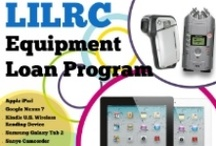 Equipment Loan Program / In an effort to increase access to the technologies needed to both produce and display multimedia content, LILRC lends the following equipment out to member libraries on a first come, first serve basis for a 21-day loan period.