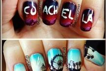 Coachella Music Festival Nails