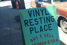 Vinyl collecting