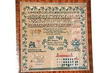 Antique Cross Stitch Samplers / by JoAnn