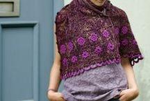 shawls, scarves, ponchos / by alina mechelewski