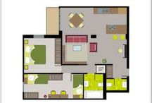Fast&Easy Design / Fast & easy way to get the best home interior design floor plan! Go on www.planyourplace.com and discover our proposals.