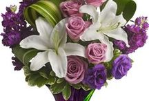Arrangements / Flower arrangments are made in a specific manner of beautiful different flowers.