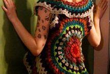 round crochet top, cami, vests / by alina mechelewski