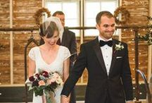 Our Style / At The Wedding Party, we love simple, less traditional, bohemian, and fun bridal gowns