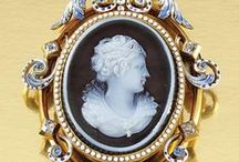 Jewelry: Cameos, Intaglios and Portraits / by Deb ~