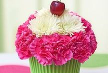 DIY Creative Flower Ideas / DIY- Do It Yourself Flower Ideas and Crafts. Simple, easy and fun to do.