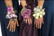 Corsages / We specialize for weddings, proms and anything else you may need a corsage for.